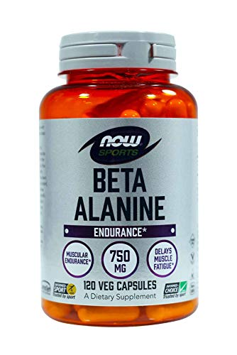 Now Foods Beta-Alanine 750 mg - 120 Capsules 2 Pack
