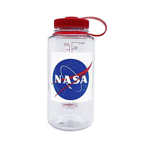 Nalgene Weithals Botella, Unisex Adulto, NASA Azul, 1 L