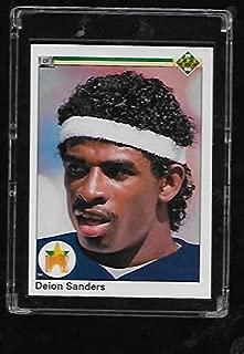 deion sanders rookie baseball card upper deck