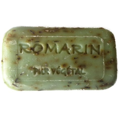 Savonnerie de Bormes Provence Rosmarin Naturseife 100g, 1 Stück