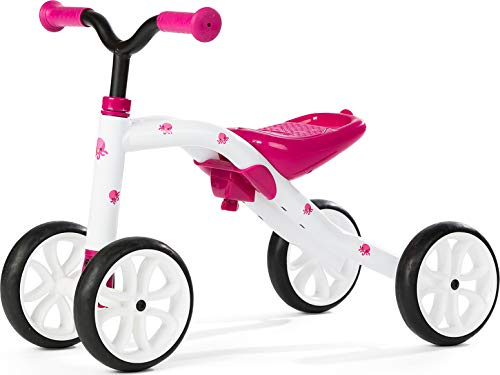 "Chillafish QUADIE: 4-Wheeler ""Grow-with-Me"" Ride-On Quad, Pink"