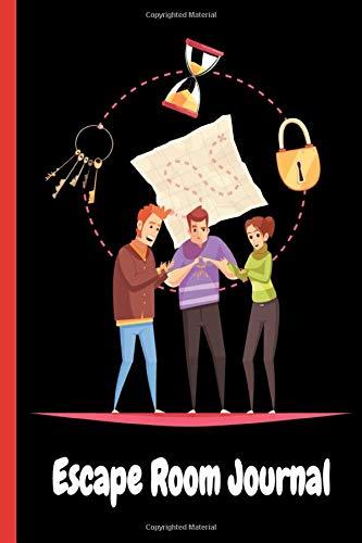 Escape Room Log Book: Journal spécial pour les amateurs des jeux d'Escape Room | Un cadeau unique pour les enfants, les adolescents et les adultes ! |6x9, 110 pages.