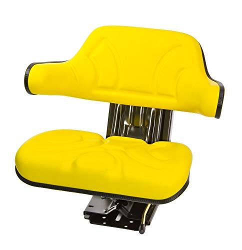 DEMA Traktorsitz gelb mit Armlehne