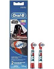 Oral-B Stages Çocuklar Için Diş Fırçası Yedek Başlığı, Star Wars, 2 Adet