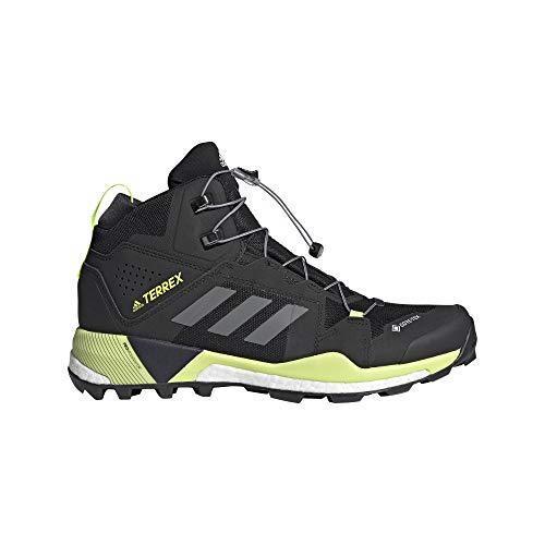 adidas Zapatilla Terrex Skychaser XT Mid GTX, Botas de Senderismo Hombre, CBLACK/GRETWO/Syello,...