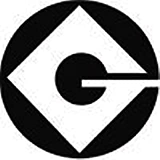 Gru Logo - 1 - White Vinyl Decal 3