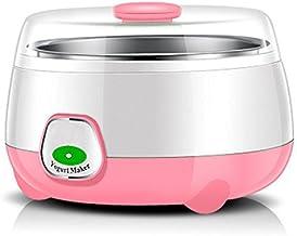 HSR Plastic and Stainless Steel 1L Automatic Yogurt Maker (Multicolour, 170x170x120mm)