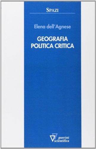 Geografia politica critica