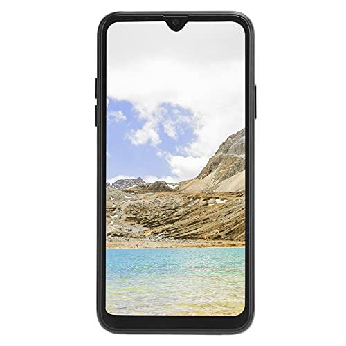 PUSOKEI Smartphone Desbloqueado, teléfono móvil con Doble Modo de Espera, Pantalla de Gota de Agua de 6.5 Pulgadas, 1 + 16G, cámaras duales Delanteras/traseras, Soporte para WiFi, Bluetooth, (Negro)