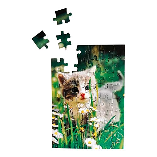 Puzzle-Postkarten, 2 Stück