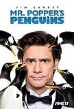 MR POPPER'S Penguins - Jim Carrey – Film Poster Plakat