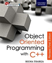 OOP WITH C++(REVISED 1ST ED)