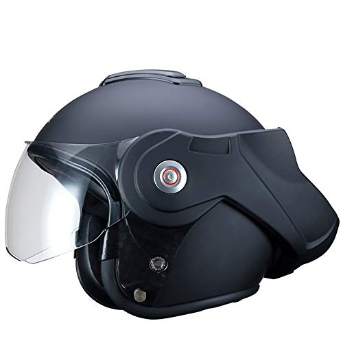 KSK Casque REBEL Modulable Noir ECE R 22.05