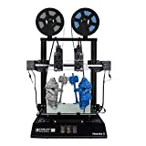 Tenlog Hands 2 3D Printer, Independent Dual Extruder 3D Printer with 3.5'' Touch Screen and UL Certified Power Supply Support PVA TPU PLA ABS,Direct Feed FDM DIY 3D Printer 8.6''x8.6''x9.8''