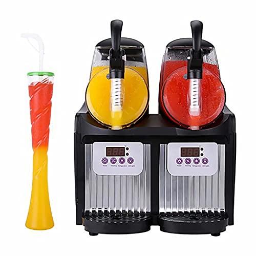 Máquina de granizado de Hielo Comercial, Tanques de 5L Máquina para Hacer Batidos de Bebidas de enfriamiento congelado Máquina para Hacer granizados de Hielo Máquina de granizado de Hielo Máquina