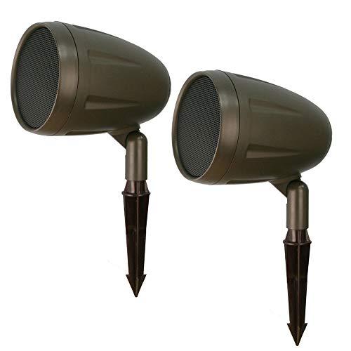 Outdoor Landscape Speakers by AVX Audio (2 Speakers)