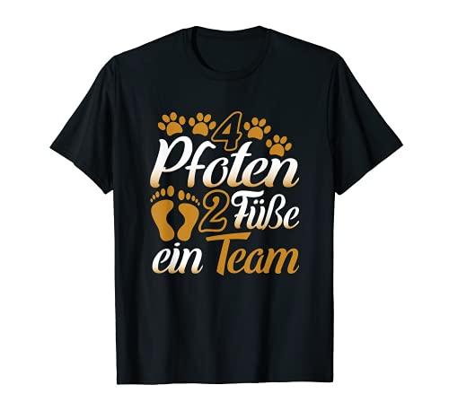 T-Shirt Hunde Gassi Hundehalter Herrchen Geschenk Spruch