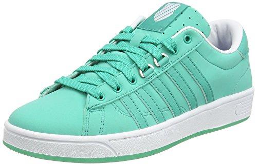 K-Swiss Hoke Snb CMF Low-Top Sneakers, Green Pool Grün Weiß, 35.5 EU