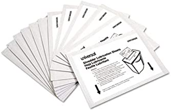 "$22 » Universal Office Products Shredder Lubricant Sheets, 5.5"" x 2.8"", 24/Pack 38026"