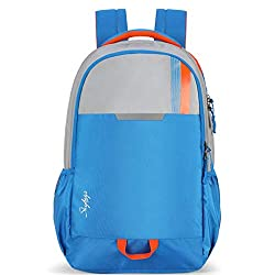 Skybags Tekie 18 cms Blue Laptop Backpack (TEKIE X 01),VIP Industries Ltd,TEKIE X 01,bagpack,bagpack for women,bagpacks,bagpacks for college,bagpacks for girls stylish,pubg bagpack level 89,wildcraft bagpacks