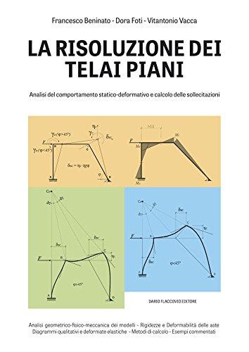 La risoluzione dei telai piani: Analisi del comportamento statico-deformativo e calcolo delle sollecitazioni