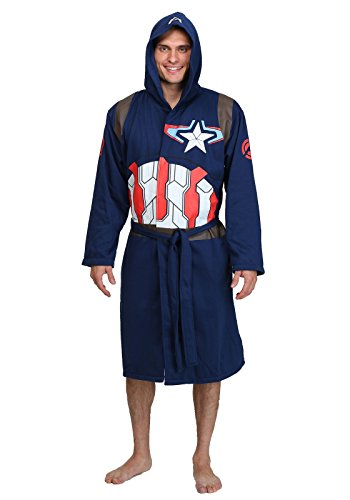 Captain America Bathrobe Standard