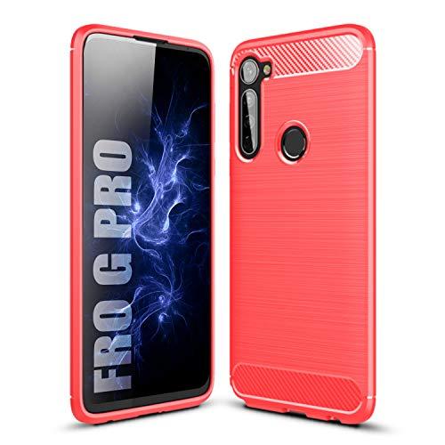 SCL Funda para Moto G Pro Funda Motorola G Pro Caso, [Rojo]...