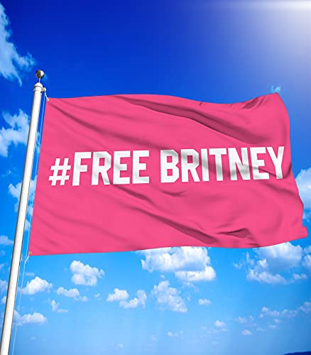 Free Britney 3X5Ft Flags with Brass Grommets for Protests or...