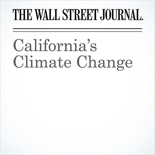 California's Climate Change copertina