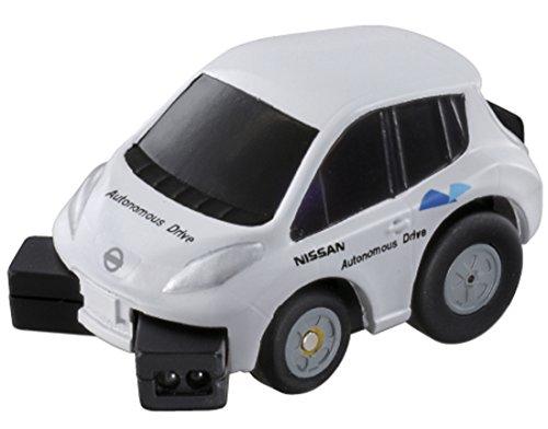 チョロQ Q-eyes QE-01 日産 リーフ 自動運転テストカー