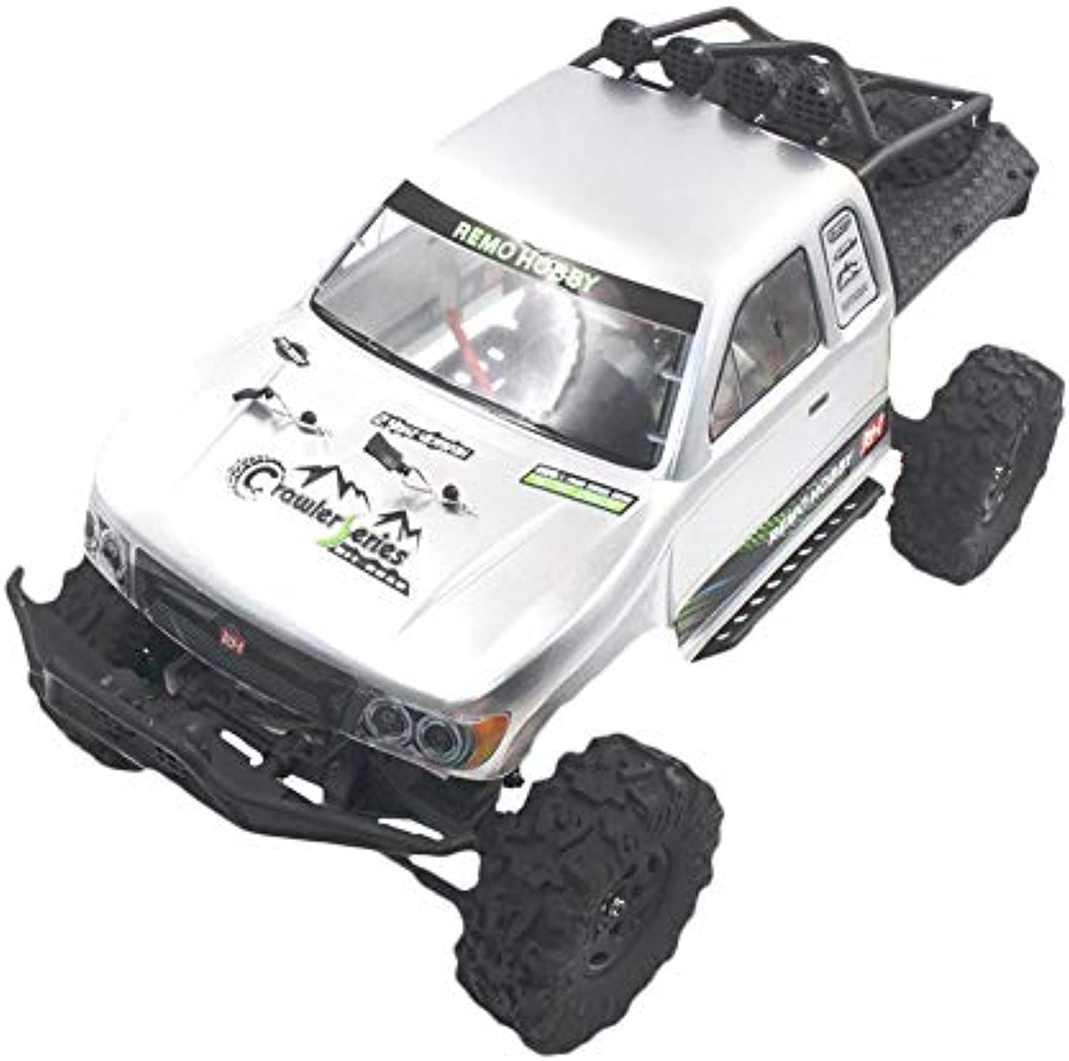 2.4G 4WD Brushed Rc Car Off-road Rock Crawler Trail Rigs Truck RTR Toy