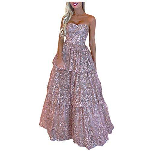 Find Discount Witspace Sexy Women Sleeveless Off The Shoulder Cocktail Prom Gown Dress