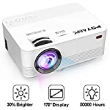 [Upgrade TV Projector] POYANK 2800Lumens LED Mini Projector- 50,000...