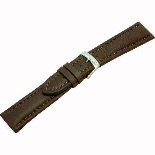 Morellato Lederarmband für Uhren braun Wide Ansatzbreite 22 mm