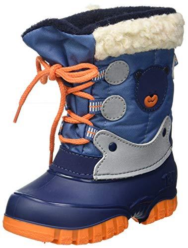 Spirale Fabi 78109727 Unisex-Kinder Jungen Mädchen Stiefel Schneestiefel, Winterstiefel, Kinderstiefel (gefüttert, Warmfutter, Futter) Avio, EU Größe 21