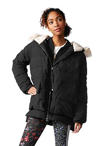 adidas Damen Mantel Premium Down schwarz schwarz 38