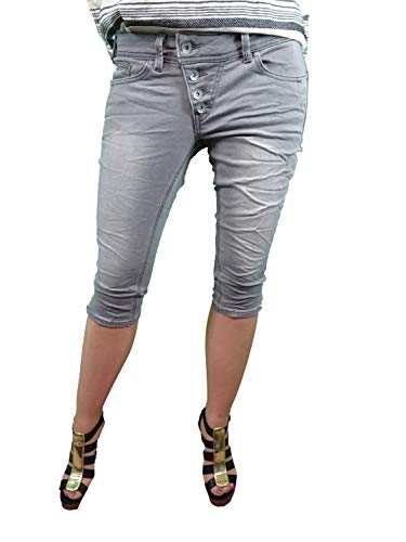 BUENA VISTA Malibu Capri Sweat Denim (M, Grey Denim)