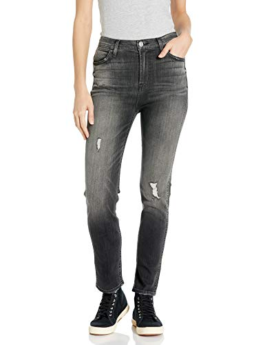 Hudson Jeans Women's Vintage Holly High Rise Crop Skinny 5 Pocket Jean, Jawbreaker, 28