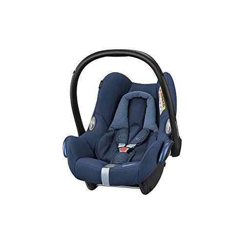 Bébé Confort Cosi Cabriofix, Siège auto Bébé Groupe 0+ , Dos à la route, Naissance à 12 mois (0 à 13 kg), Nomad Blue (bleu)