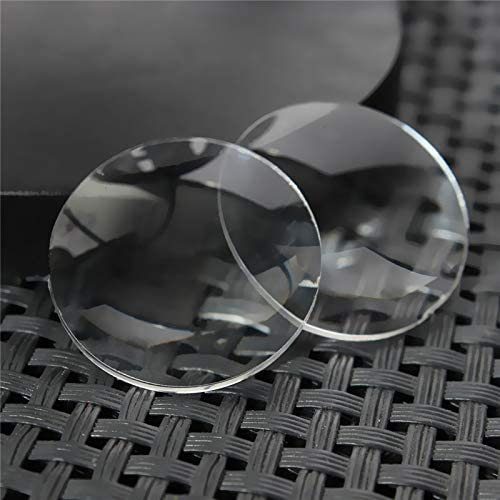 Tool Parts 2pcs lot 25mm x 45mm BiConvex Lens for Google Cardboard DIY 3D VR Glasses product image