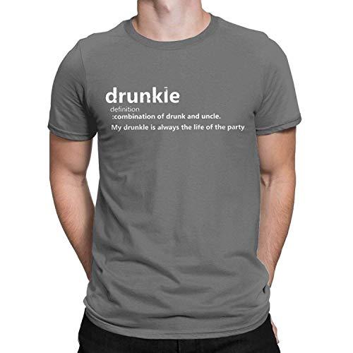 Drunkle Borracho tío Definición Camiseta Divertida de los Hombres Que Bebe Regalo disfuncional TES de Las Tapas, 3X-Large, Deepheather