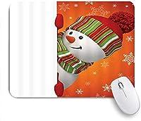 マウスパッド とかわいいだるまあけましておめでとうございますホワイトオレンジ ゲーミング オフィス おしゃれ がい りめゴム ゲーミングなど ノートブックコンピュータマウスマット
