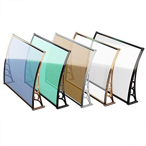 ZEMIN deur luifel luifel kunststof staal stille luifel balkon outdoor regendichte PC Endurance Board Airconditioning afscherming regen rit