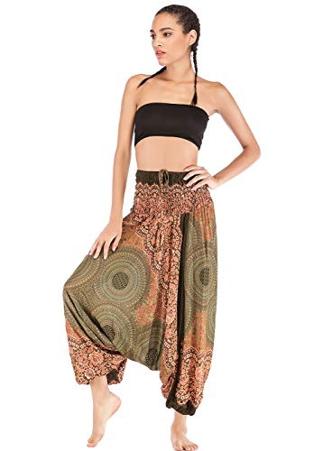 Pantalones estilo boho amplios tipo harem –disponible en dos colores