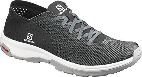 Salomon Tech Lite, Zapatillas de Senderismo acuáticas para Hombre, Gris (Quiet Shade/Black/Alloy), 40 EU