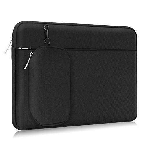 Alfheim 15.6-16 inch Laptop Sleeve Case, Waterproof Lightweight Protective Notebook Bag with Detachable Accessory Pocket, Compatible with MacBook Pro 16 inch A2141, MacBook Pro Retina A1398 2012-2015