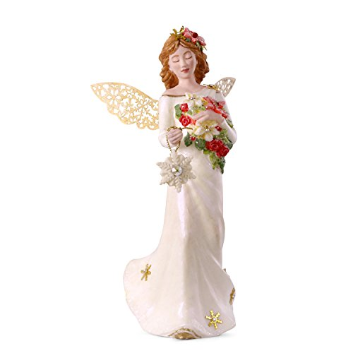 Hallmark Keepsake Christmas Ornament 2018 Year Dated, Winter Angel, Porcelain