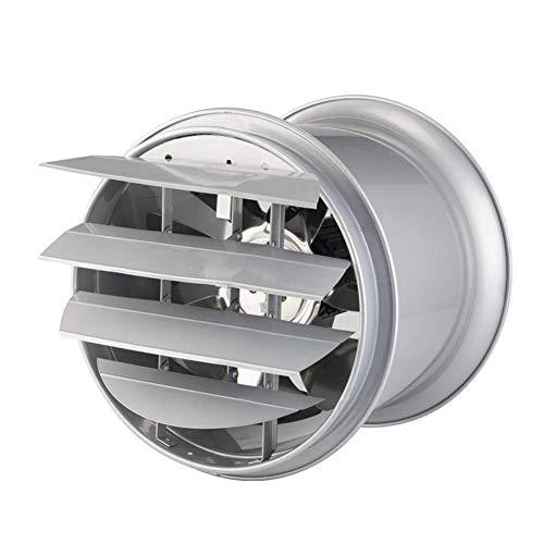 Extractor De Baño, Aficionado al extractor de baño, ventilador de extractor de cocina potente 10 pulgadas, cocina silenciosa Conducción con persianas