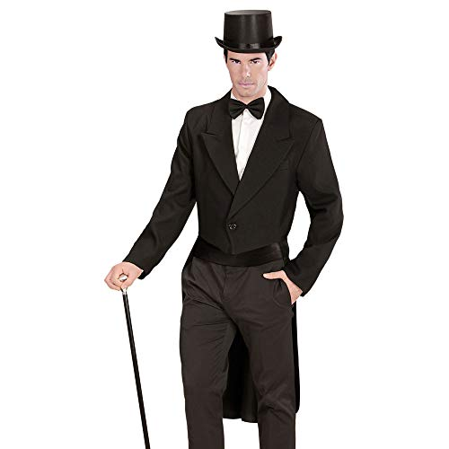 WIDMANN - 59031 - Adultes Costume Tailcoat - Homme - Noir - Taille: XL