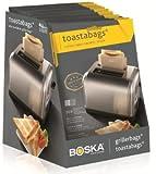 Boska Toastabags 01-32-29, Brown, 2 Bags